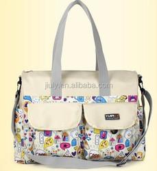 5 PCS/set Nappy baby diaper bag for Womens shoulder