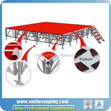 build portable stage deck portable stage marching band portable folding stage