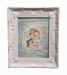 baroque style wooden carved picture frames