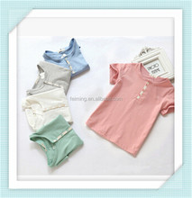 Wholesale high quality fashionable fresh baby boys t-shirt