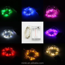2meters 20L LEDs Bulb Christmas Xmas Fairy Party Deco copper String Lights battery power