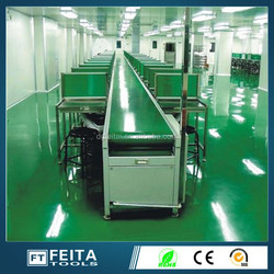 Rubber conveyor belt/ assembly line/assembly line equipment/machine