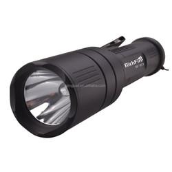 SingFire SF-377 XM-L2 5-Mode White light rotating focusing - black with memory flashlight 1x18650 battery