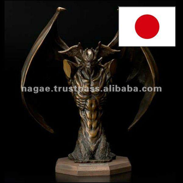 Cartone animato giapponese devilman eroe statua di