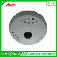 2.0-megapixel 1080P Fisheye 360 degree ip camera, Supports TF card record outdoor wireless wifi hd ip security camera