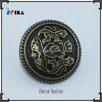 custom metal Sewing sound double sided buttons