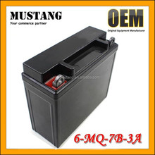 Sealed Storage Battery Rechargeable 12V 7Ah Lead Acid Motorcycle Battery
