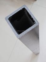 Fiberglass square tube,fiberglass mortar tube,square plastic tube