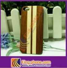 For iphone5 bulk cheap wholesale mobile phone cases wood back cover,customized logo engraved wooden case for iphone 5