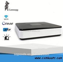 P2P mini Onvif H.264 Smarthome NVR network surveillance home 4ch NVR home security alarm