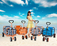 Hotest allover the world Newest Designs 4 Wheels,home use, children Foldable Trolley/Folding Wagon Cart