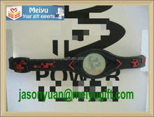 American Basketball team power energy silicone wristband bracelet for Miami backetball team logo