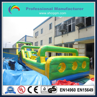 hot sale cheap inflatable obstacle course for adults and kids