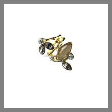 fashion popular new gold ring custom