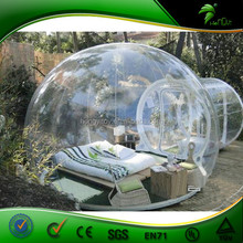 Outdoor Champing Bubble Tent Clear Inflatable Lawn Tent Good Handmade