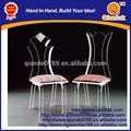 silla de acrílico personalizada para uso actual o decoración