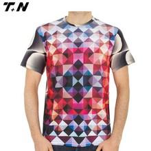Latest model colorful t shirt custom