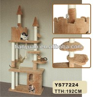 Luxury Wood Style Cat House,Cat Trees,Cat Tree Condo
