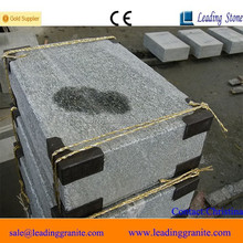 Granite steps and risers, outdoor stair steps