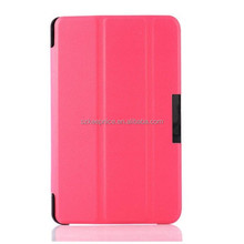 Best quality PU leather folder case for Amazon kindle fire hd6