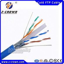 Ethernet Networks CE/ Fluke Passed Copper Wire 4Pair FTP Cat6 Cable
