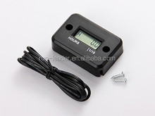 Racing engine waterproof hour meter for truck tractor golf cart motocross atv motorcycle jet ski jet boat snowmobile pit bike MX