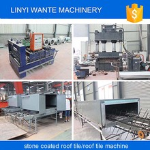 Trade Assurance stone coated metal roof tile machine for classic tiles,shingle roofing sheet