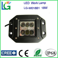 car accessories LED Flush Mount CREE 4'' 18W LED Work Light ,12v 4inch led work light, truck head light