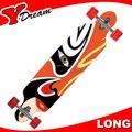 gravar logo de bambu grosso skates longboard
