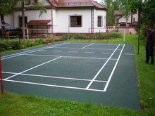 Badminton Court Rubber Flooring, Outdoor Badminton Court Flooring -FN-D-15010903