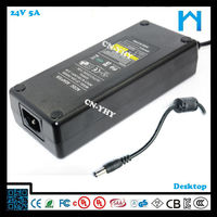 24v 5a 120w for LED LCD Monitor,Massage Chair,Pos systerm etc