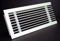 linear air diffusers door grille
