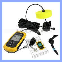 Portable Sonar LCD Fish Finder Alarm 100M