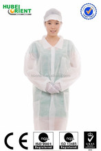 Chemical Waterproof Resistant Customized Velcros Lab Coat