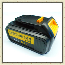 Li-ion Replacement Power Tool Battery for Dewalt Cordless Drill 20V DCB182 DCB183