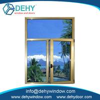 Low price patio aluminum windows water-resistant