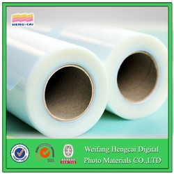 SOLVENT SILICON -window CLING CLEAR FILM