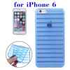 Factory Price Stripes Design TPU Case for iPhone 6 Made in China