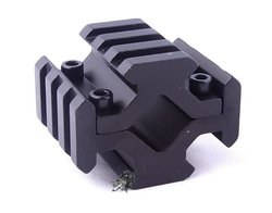 Universal Barrel Mount 4 Rail Picatinny/Weaver Rail w 4 Slots fit for Scope Optics Lasers hunting mount