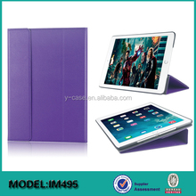 Super slim stand leather case for iPad mini 4 , for iPad mini 4 tablet case