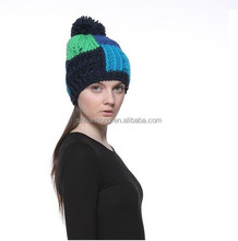 high quality winter custom patch winter beanies hat