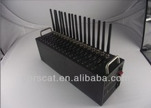 16 Ports Modem Pool,16 sim Cards USB GSM Modem, With web SMS sending