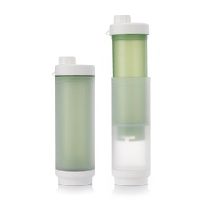 Sukori Patent PP 470ml BPA free water filter bottle/carbon filter/water jug/jar with filter