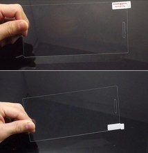 High quality tempered glass protector for lenovo k900 screen film