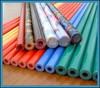 coated fiberglass rod,plastic coated rod