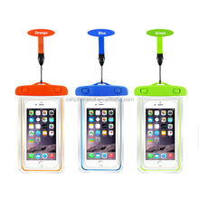 High Quality Waterproof Bag for 5.8inch Mobile Phone