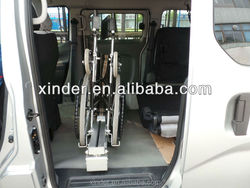 Easy-operated Wheelchair Loader for Foldable Wheelchairs