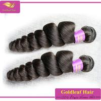 7a grade no tangle no shedding brazilian virgin loose curl hair