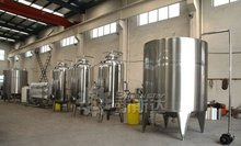 2012 new stainless steel ro water treatment line