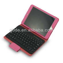 high quality bluetooth wireless keyboard android tablet pc case for apple ipad mini